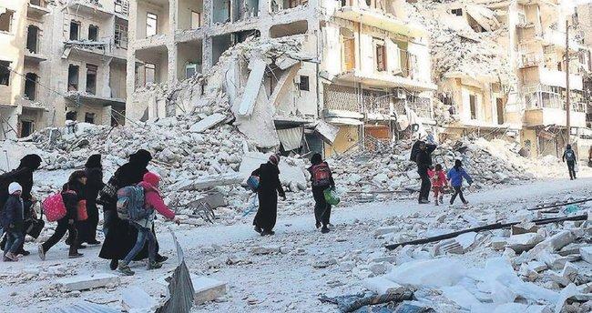 Halep'te fırın kalmadı