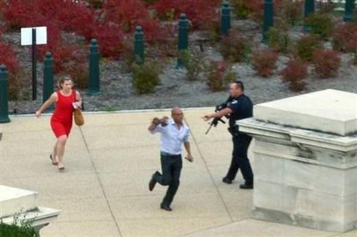 ABD Kongre binasında silah sesleri