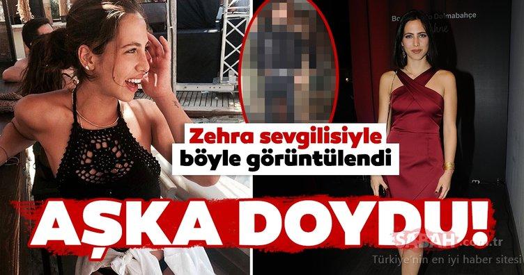 Zehra Çilingiroğlu aşkta aradığını buldu! Hülya Avşar'ın kızı Zehra Çilingiroğlu sevgilisiyle böyle görüntülendi...