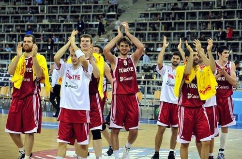 Türkiye - Sırbistan basketbol  maçı
