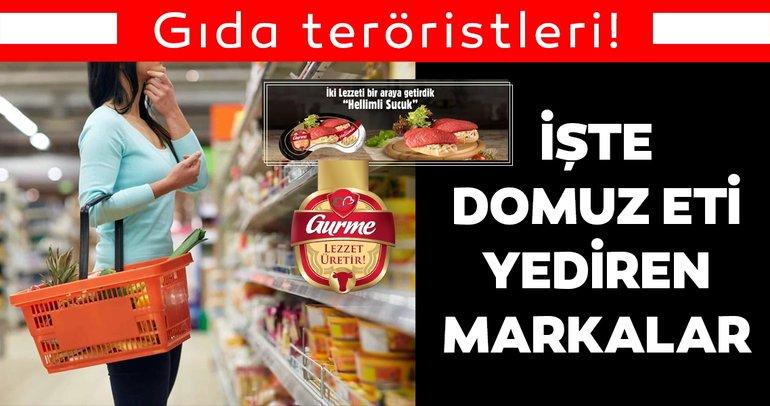 Hileli gıda teröristleri ile ilgili son dakika haberi: Bakanlık yayınladı! Domuz eti içeren hileli ürünler listesinde olanlar...