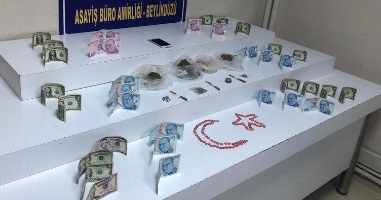 AVM çevresinde uyuşturucu satıyordu! Yakalandı
