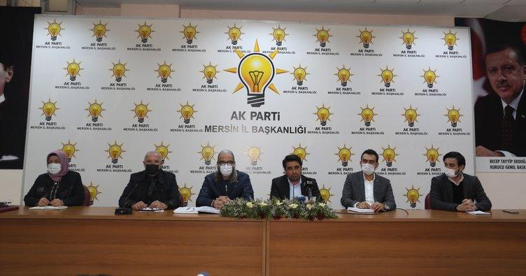 AK Parti Mersin İl Başkanı Ercik: Hodri meydan!