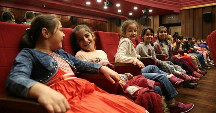 Çocuklara sinema şöleni
