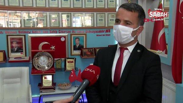 Elazığ'da Şehit Korgeneral Osman Erbaş hüznü | Video