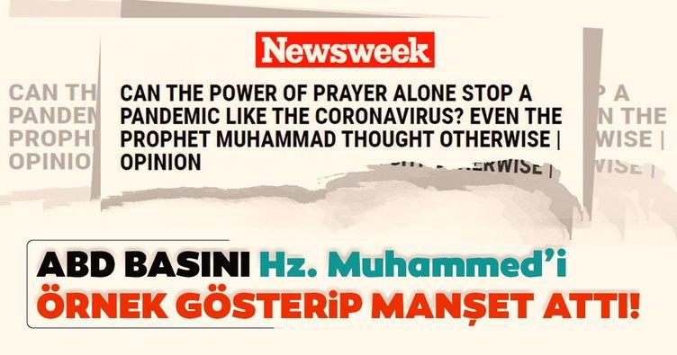 ABD basını coronavirüsle mücadelede Hz. Muhammed'i örnek gösterdi!  Temizlik imandan gelir