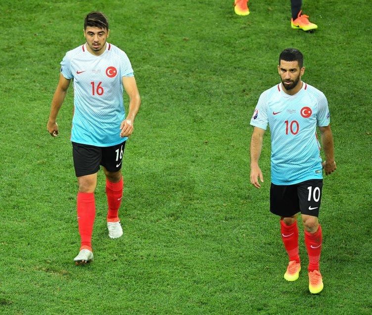 İspanya Türkiye maçından kareler