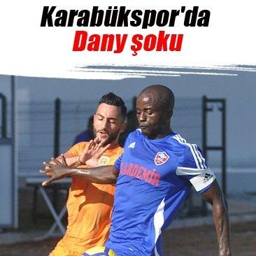 Karabükspor'da Dany şoku