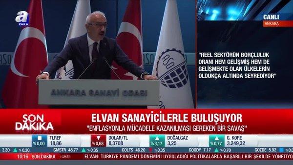 Bakan Elvan: Ekonominin temel rotasını belirledik