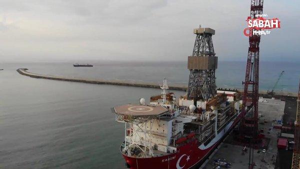 Kanuni'nin kule montajı tamamlandı | Video