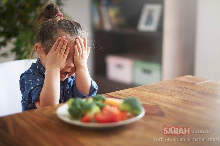 Çocuğum sebze meyve yemiyor diyorsanız...