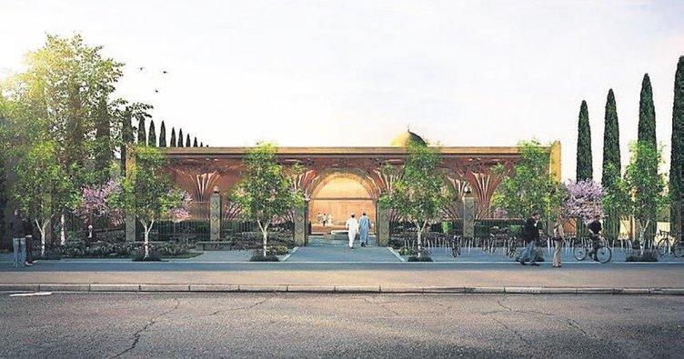 Avrupa'nın ilk çevre dostu camisi