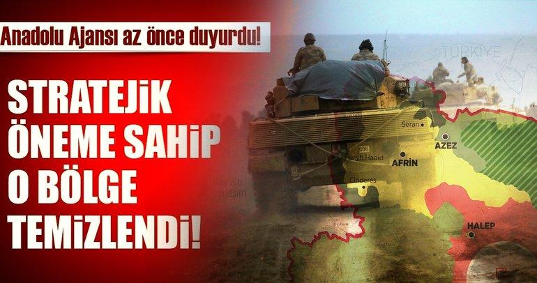 Son dakika: TSK ve ÖSO Afrin'e ilerliyor