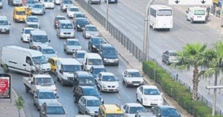 Araç sayısı 62 ilin nüfusunu geçti
