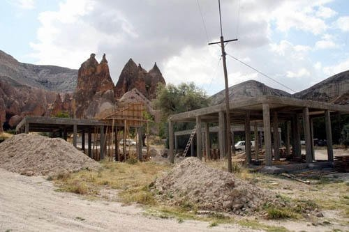 Kapadokya'da perikondu