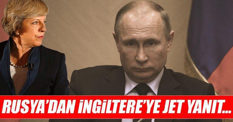 İngiltere'deki ajan krizine Rusya'dan jet yanıt