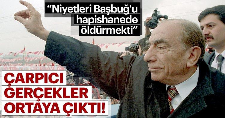 Türkeş'in tahliyesinde onu seven aşırı solcuların da imzası var