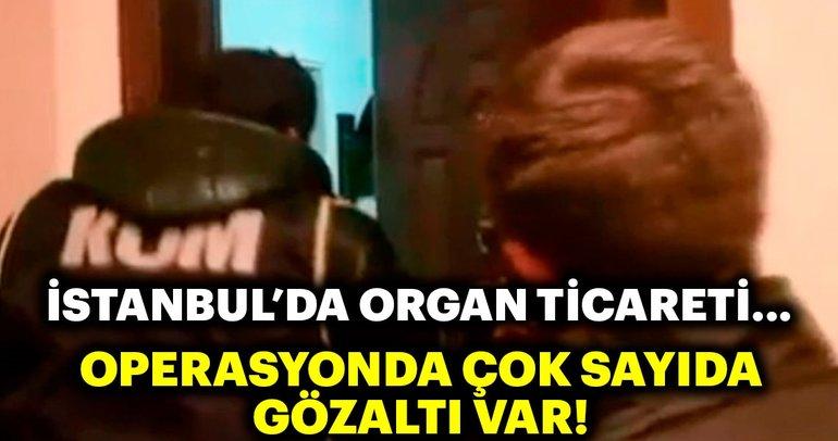İstanbul'da organ ticareti operasyonu