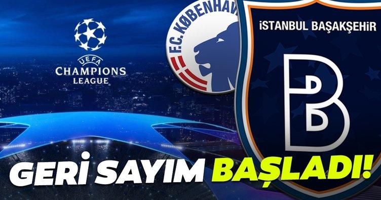 Kopenhag Medipol Başakşehir maçı ne zaman, saat kaçta başlıyor? Kopenhag - Başakşehir maçı hangi kanalda yayınlanacak?