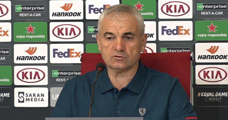 Sivasspor Teknik Direktörü Rıza Çalımbay: Türkiye için oynayacağız