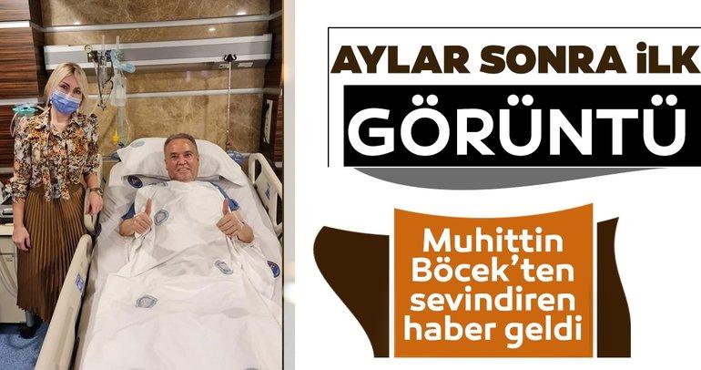 Antalya Büyükşehir Belediye Başkanı Muhittin Böcek'ten aylar sonra ilk görüntü