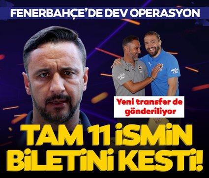 Son dakika: Fenerbahçe'de dev operasyon! Vitor Pereira 11 ismin biletini kesti, yeni transfer de gönderiliyor