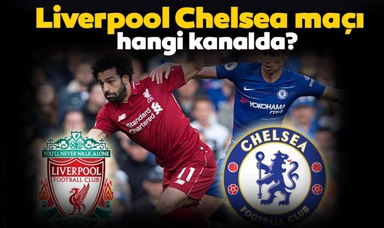 Liverpool Chelsea maçı hangi kanalda yayınlanacak? Liverpool Chelsea UEFA Süper Kupa Finali ne zaman saat kaçta? Canlı izle