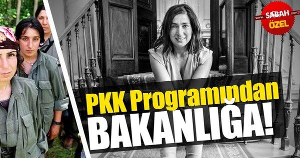 Belçika'da PKK programlarına katılan Zuhal Demir bakan oldu