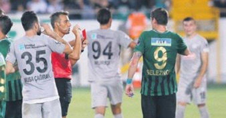 Seleznov'a 4 maç ceza geldi