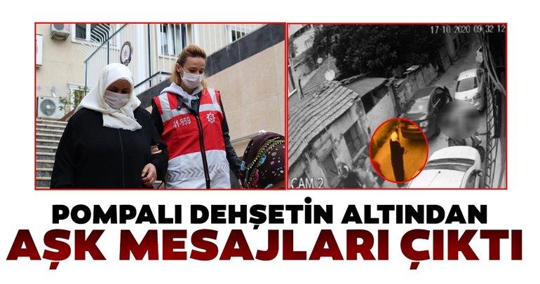 Son Dakika: Beyoğlu'ndaki pompalı dehşetin altından aşk mesajları çıktı