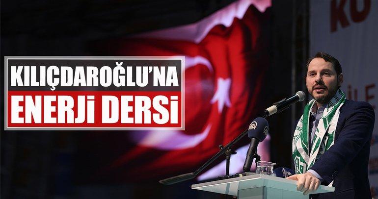 Kılıçdaroğlu'na enerji dersi