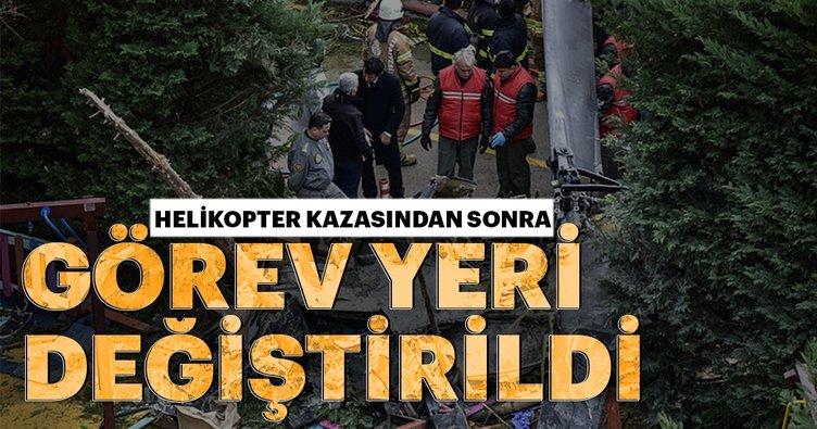 Son Dakika: İstanbul'daki helikopter kazasının ardından o komutan hakkında flaş gelişme