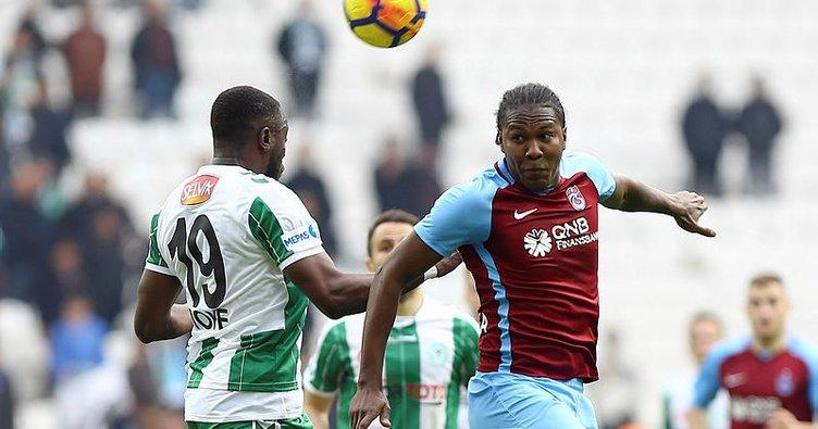 Trabzonspor ile Atiker Konyaspor 35. randevuda