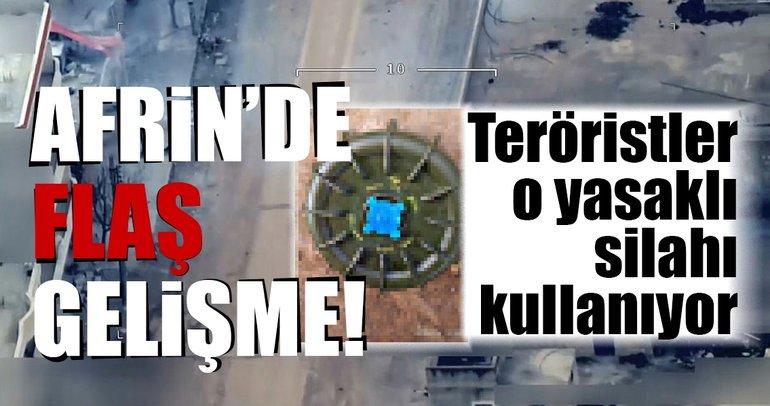 Son Dakika Haberi: Afrin'de yasaklı anti-personel mayınları ele geçirildi