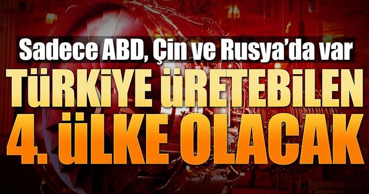 Türkiye dünyada 4 ülkeden biri olacak!