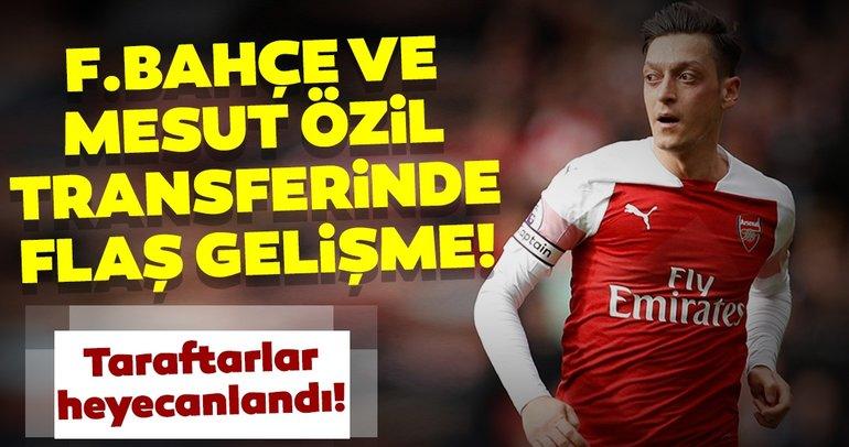 Fenerbahçe ve Mesut Özil! Transferde sürpriz bir gelişme yaşandı...