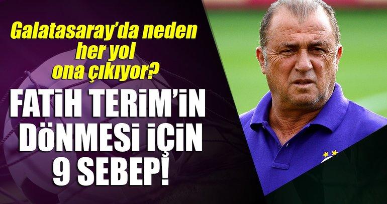 Galatasaray'da neden her yol Fatih Terim'e çıkıyor?