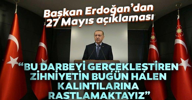 Son dakika: Başkan Erdoğan'dan 27 Mayıs paylaşımı!