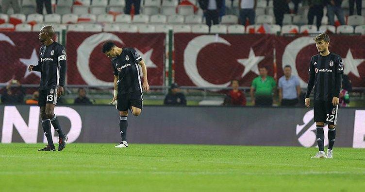 Beşiktaş, Konya deplasmanında kaçamadı