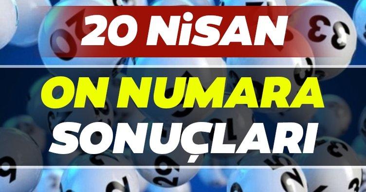 On Numara sonuçları belli oldu! Milli Piyango 20 Nisan On Numara çekiliş sonuçları ve hızlı bilet sorgulama ekranı BURADA...