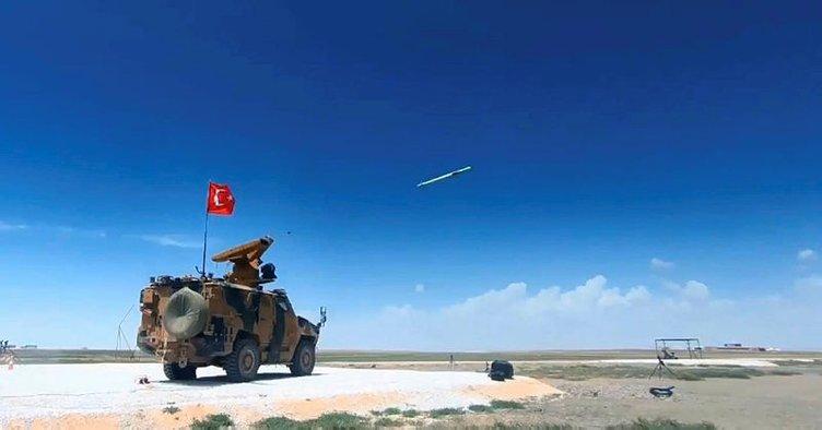 Hava savunma füzesi SUNGUR hizmete hazır!