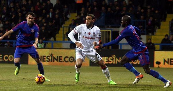 Kardemir Karabükspor-Beşiktaş maçından kareler