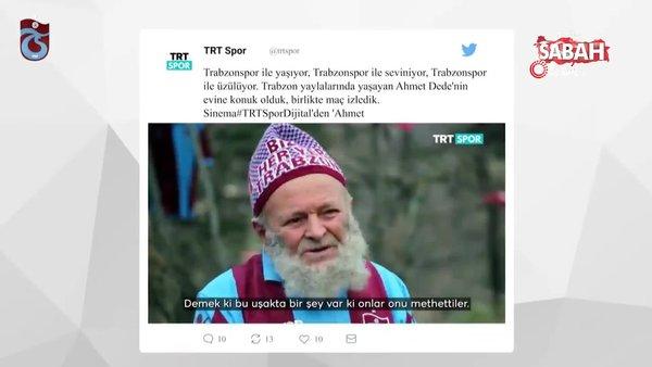 Uğurcan Çakır, 83 yaşındaki Ahmet Dede'yi ziyaret etti, gönülleri fethetti | Video