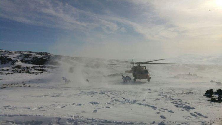 TSK operasyon fotoğraflarını paylaştı