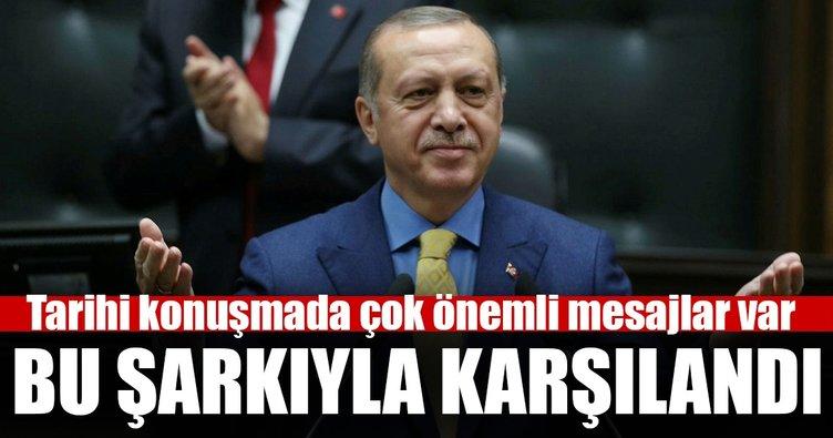 Cumhurbaşkanı Erdoğan'dan Ak Parti Grubunda önemli mesajlar