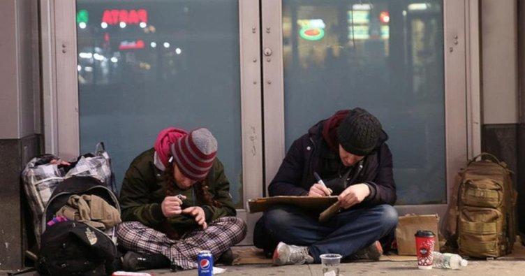 New York'ta 100 binden fazla evsiz öğrenci yaşıyor