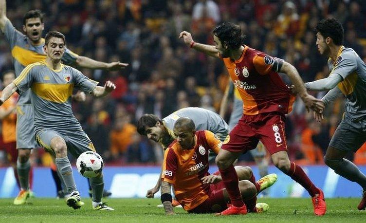 Galatasaray - Kayserispor maçının fotoğrafları