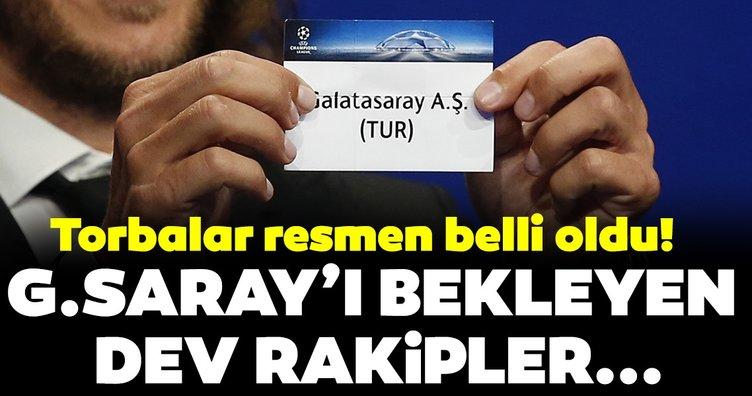 Şampiyonlar Ligi torbaları nasıl oluştu? İşte Galatasaray'ın muhtemel rakipleri...