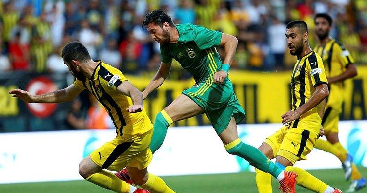 Fenerbahçe, Cocu'yla ilk sınavında kazanamadı