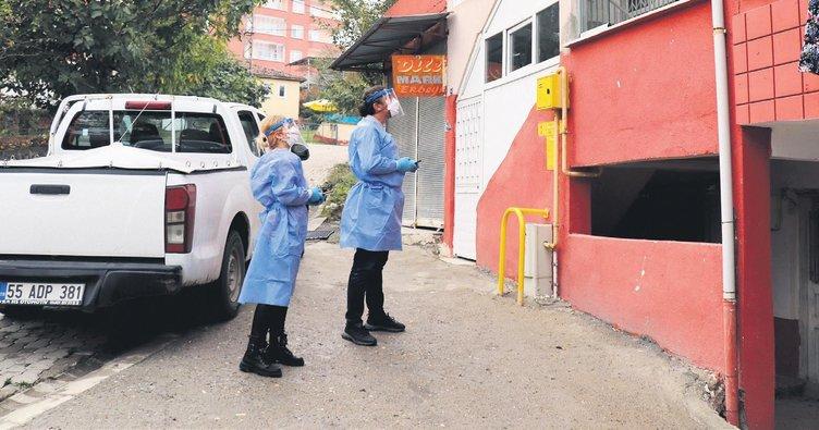Akraba ziyareti, Samsun'da 56 kişiye virüs bulaştırdı